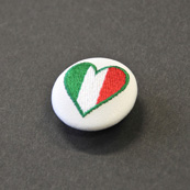 Asobi Button National flag/TALY<ハート>