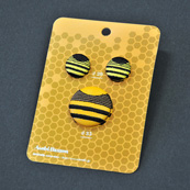 Asobi Button BEE 3pieces